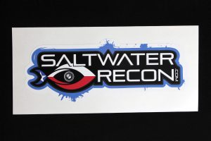 Saltwater-Recon Decal (large)